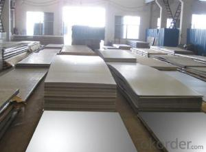 Stainless Steel Plate 444 with Surface Treatment