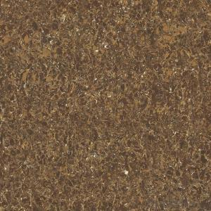 Polished Porcelain Tile Pilate Stone Serie Brown Color CMAX23606