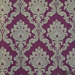 Metallic Wallpaper Hot Selling Hotel Decoration Designs Royal Wallpaper