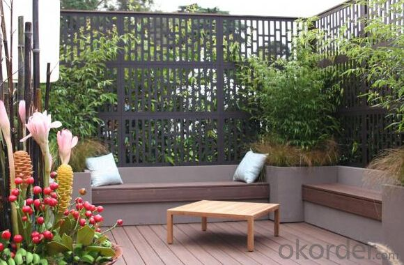 WPC Wood Plastic Composite Natural Colour Slip Resistance to Water Anti Insect