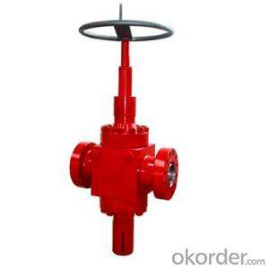 Ball Screw Gate Valve with API 6A Standard