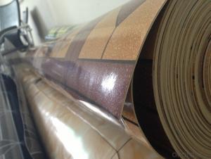 pvc sponge printed flooring indoor pvc carpet price
