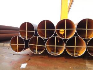 Large diameter longitudinal submerged arc welded pipe
