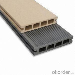 WPC Decking Wood Plastic Composite Anti-water, Anti-insect,  Recycled Plastic
