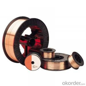 MANGANESE STEEL WELDING WIRE WITH COPPER COATED