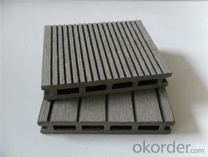 WPC Decking Wood Plastic Composite Anti-water, Anti-insect, Urban Utilities