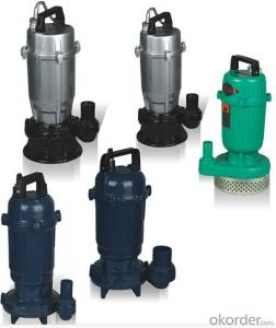 Submersible sewage centrifugal water pumpS