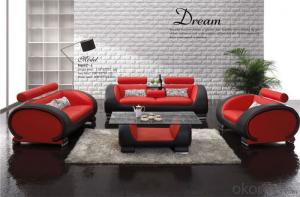 Indoor Furniture Very Comfortable Leather Sofa