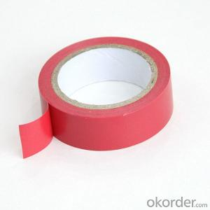 Hot Sale China Supplier Insulating Orange PVC Tape