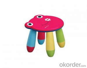 PP Plastic  Children Chair, Cartoon Design
