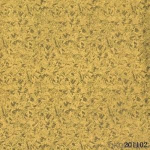 Metallic Wallpaper Plastic Vinyl Wallpaper with Great Price