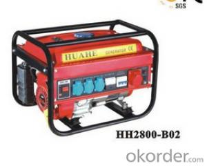 2KW/5.5HP Portable Gasoline Generator Set