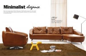 Genuine Leather Sofa Modern and Fashion Style