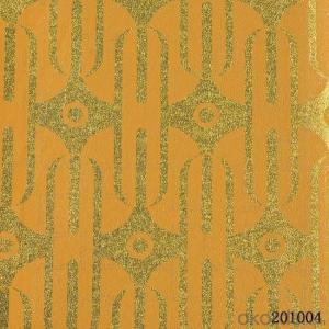 Metallic Wallpaper Bathroom Decoration Classic Damask Wallpaper