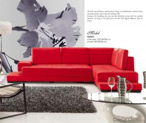 Indoor Furniture Leather Sofa Great Soft