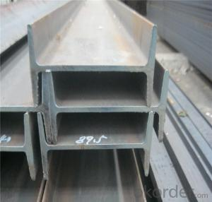 80MM to 270MM stainless  steel I-Beam for construction GB Q235B