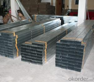 Galvanized  Metal  Steel C-Channel  Profiles