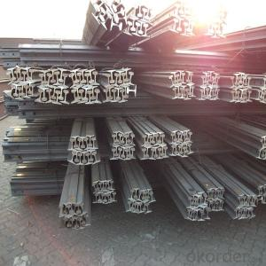 Hot Rolled Light Steel Rail for Warehouse ,Minas, Structures
