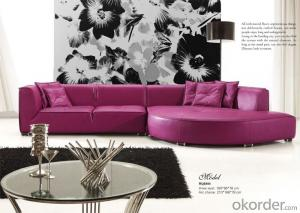 Grain Leather Sofa with Beautiful Colour