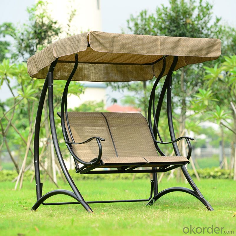 Patio Swing Chair with Waterproof Fabric CMAX-SC001LJY