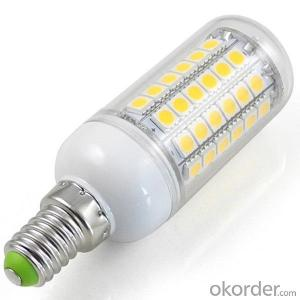 LED Bulb Ligh corn 220V e12 2000k-6500k 5000 lumen g10 color temperature adjustable 12w