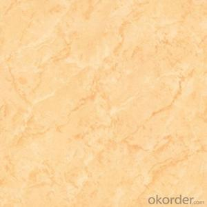Polished Porcelain Tile The Pilate Yellow Color CMAXSB1101