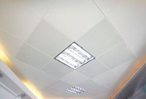 Aluminum Ceiling Tiles for Office, Clip In Item