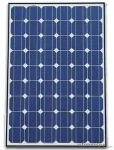 OEM Monocrystalline Silicon Solar Panels from 5W to 300W with Factory Price CNBM