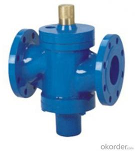 ASZK Self-operated flow control valve