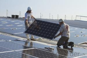 Factory Sales 160W Monocrystalline  Solar Panel CNBM