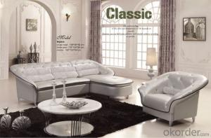 Furniture Corner Leather Sofa with Nice Design