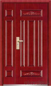Steel Security Door, Metal Door, Iron Entrance Door  design
