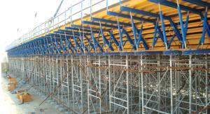 Timber Beam Formwork with Simple Structure and Easy Assembly