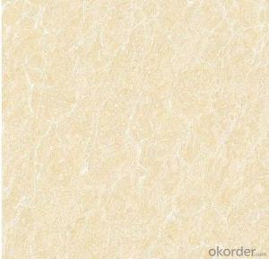 Polished Porcelain Tile The Pilate Yellow Serie CMAX0512