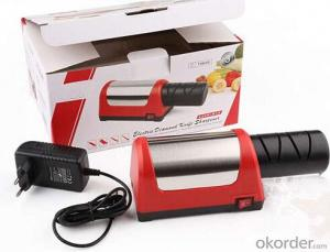 Electrical Kitchen Knife Sharpener with Suction Pad
