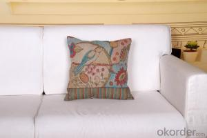 Square Pillow Cushion Cover with Beautiful Design Manufacturer