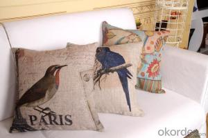 Square Pillow with Modern Digital Printing Wholesale