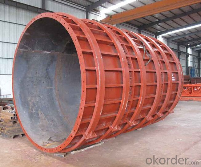 Buy Steel Formwork For Tunnel Building With Thick Steel