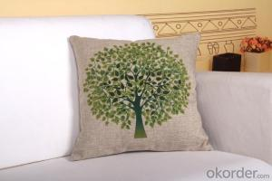 Soft Square Pillow and Cushion with Digital Printing for Chair, Sofa