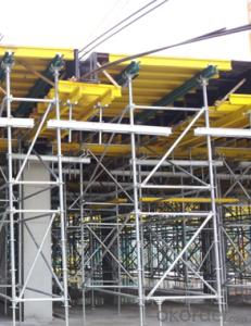 Timber Beam Formwork Adapted to Different Support System