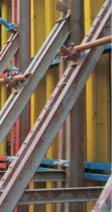 Timber Beam Formworks for Construction Building