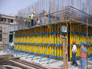 Flat Formwork of Concrete with H20 Timber-Beam and WISA Plywood