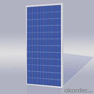 Polycrystalline Solar Panels for 250-W Series