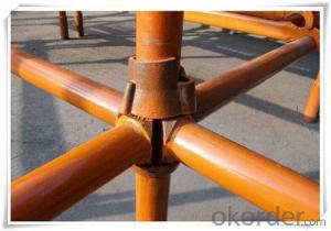 Cup-lock System Scaffolding with Painted Steel Q235 Q345 CNBM