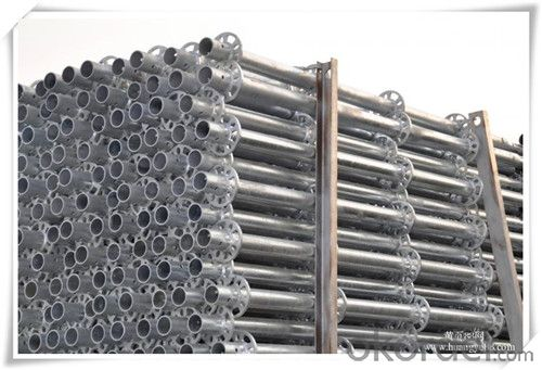 Steel Ringlock Scaffolding Standard  with High Quality  CNBM
