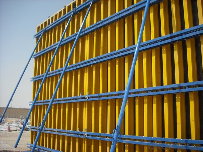 Flat Formwork with H20 Timber-Beam and WISA Plywood Low Weight