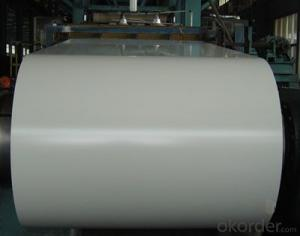 PPGI,Pre-Painted Steel Coil in High Quality White Color