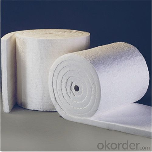 Ceramic Fiber Insulating Materials 1260℃ STD, 128Kg/m3 Density