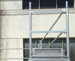 Scaffolding AS/NZ 1576 Layher Stair Ladder Platform