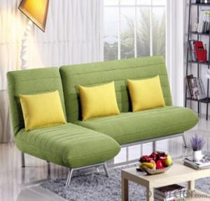 Sofa Sleeper with Three Seats Fabric Cover